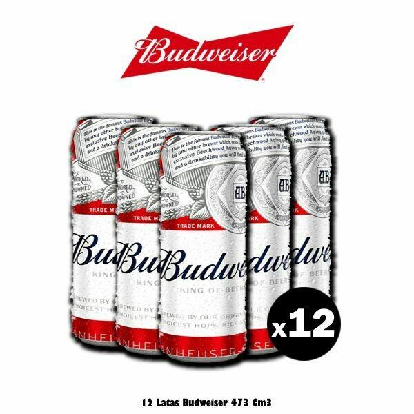 Lollapalooza Budweiser Lata 473 Cm3 x12