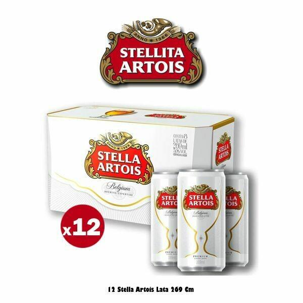 12 Latas Stella 269Cm3