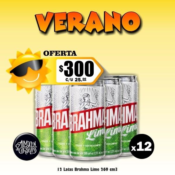 VERANO- Brahma Lime Lata 269Cm3 x12