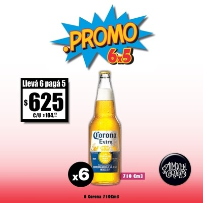 PROMO 6x5 - Corona 710Cm3 x6