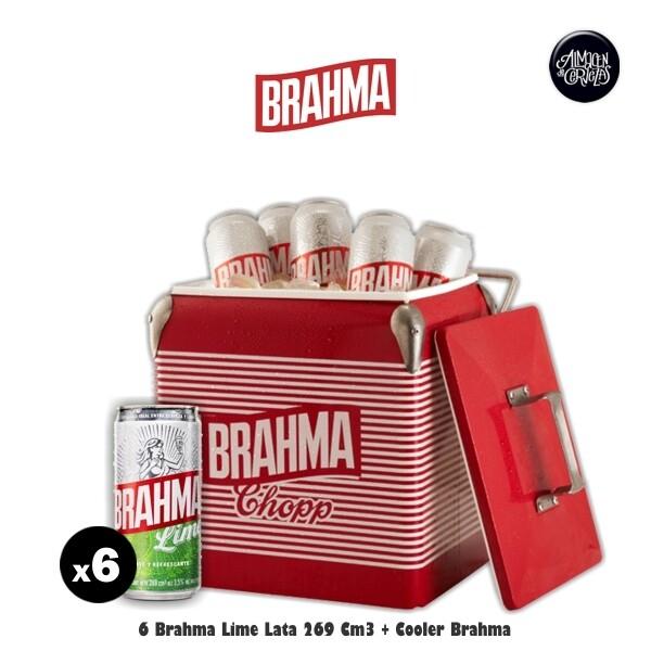 6 Brahma Lime 269 Cm3 + Cooler