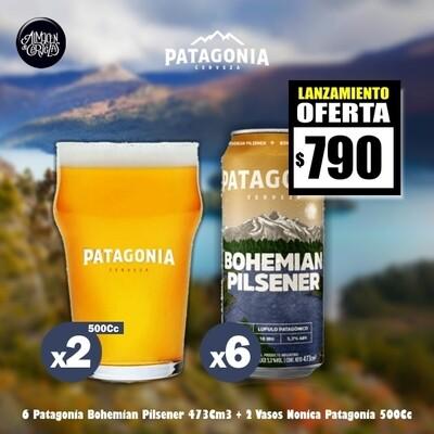 LANZAMIENTO-6 Pat Bohemian Lata 473Cm3 + 2 Vasos 500Cm3