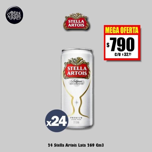 MEGA OFERTA - 24 Latas Stella 269Cm3