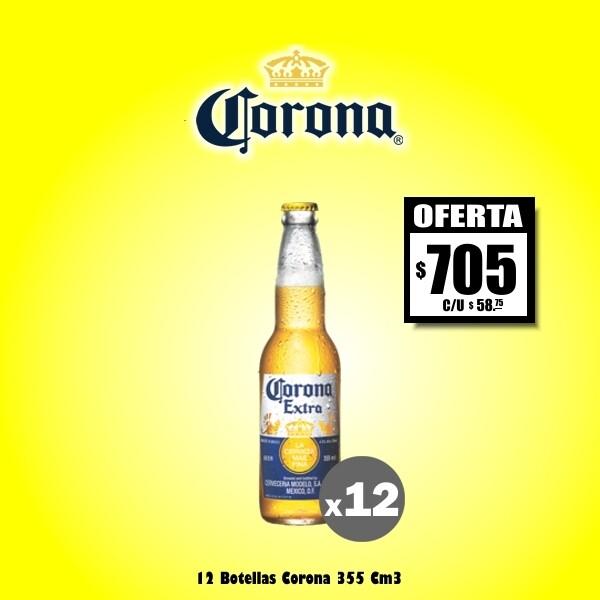OFERTA - Corona 330Cm3 x12