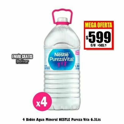 Nestle Pureza Vital x4