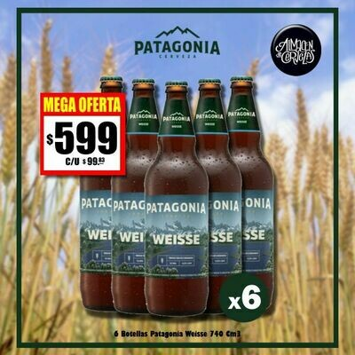 MEGA OFERTA - 6 Patagonia 730 Cm3 Weisse