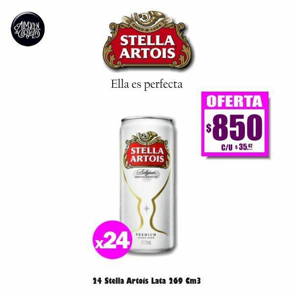 24 Latas Stella 269Cm3
