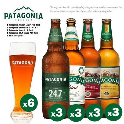 Familia Patagonia Vasos