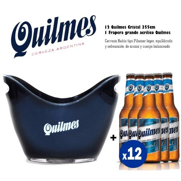 Quilmes Frapera Acrílico