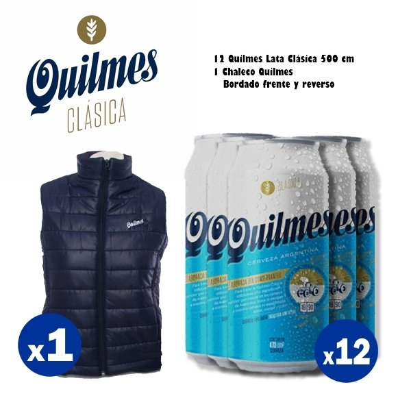 Chaleco Quilmes
