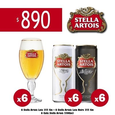Packs Stella Artois Petit