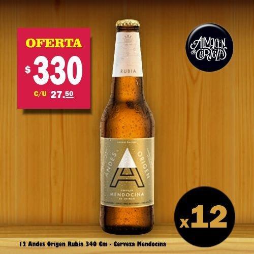 Andes Origen Rubia OFERTA