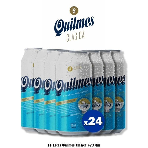 Quilmes Lata x24