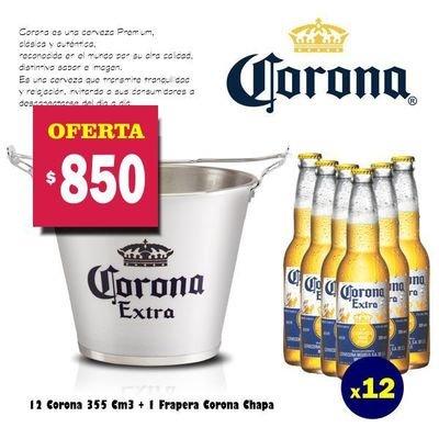 Frapera + 12 Corona