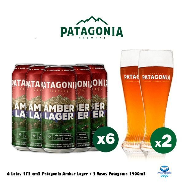 Lata Patagonia + Vasos