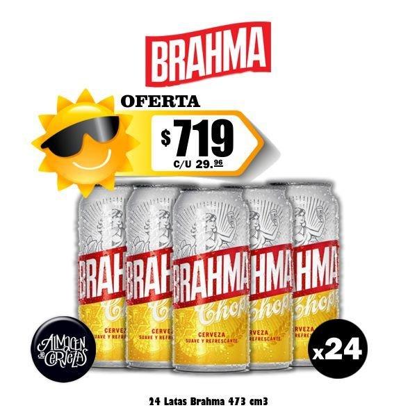 Promo Verano Brahma Lata 500