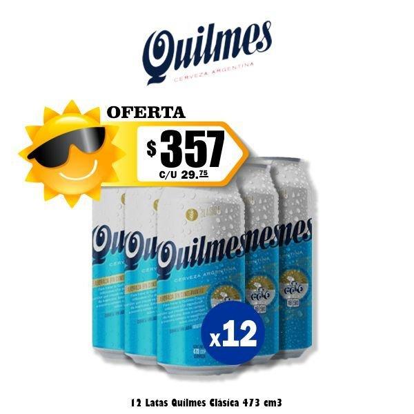 Promo Verano Quilmes Lata x12