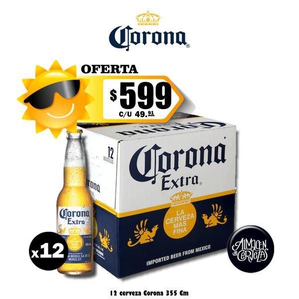 Promo Verano Corona 355Cm3 x12