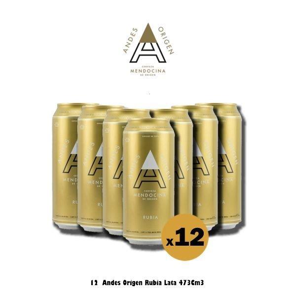 Andes Origen Lata 473 Cm3