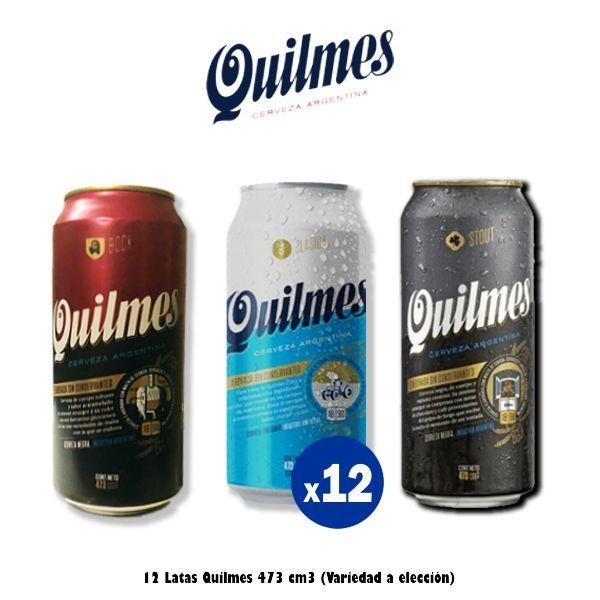 Lata Quilmes 473 Cm3