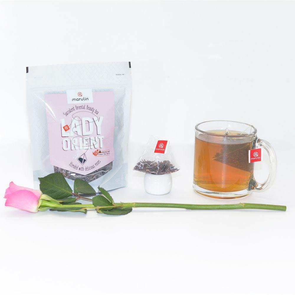 Lovely Lady Orient - Rose Oriental Beauty Tea