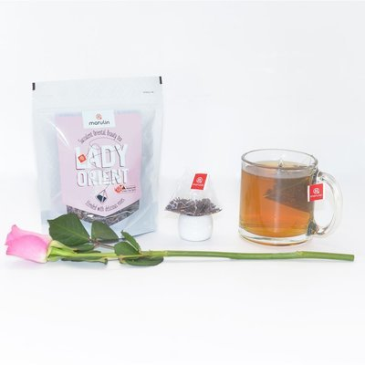 Lovely Lady Orient - Rose Oriental Beauty Tea