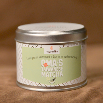 Marulin Oma's Taiwanese Matcha in Gift Tin - 50 servings