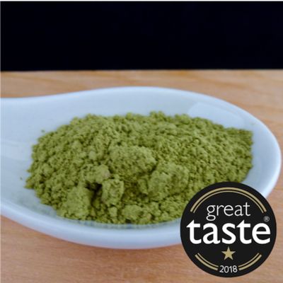 Award-Winning Opa's Taiwanese Genmaicha (Matcha & Roasted Rice) Tea Powder - 50 servings