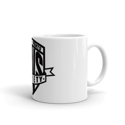 Front and Center Mug - Black and White