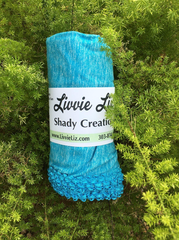 SPF 50 Multi-Purpose Blanket Turquoise with Turquoise Trim