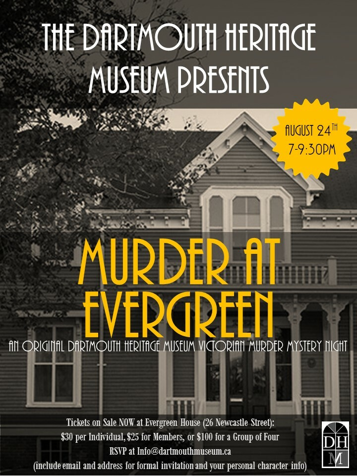Murder Mystery at Evergreen -  Group Tickets (Table of 4) MMETG