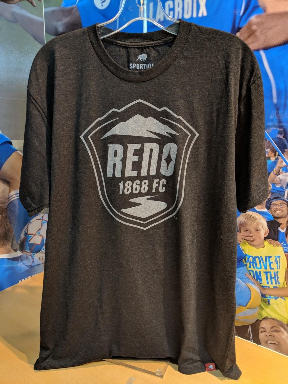 Reno 1868 Crest Comfy Tee