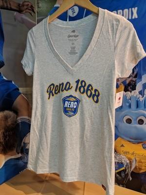 Reno 1868 FC Womens V-Neck