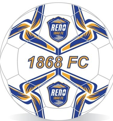 Reno 1868 Mini Soccer Ball