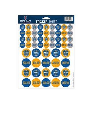 8 X 11 Sticker Sheet