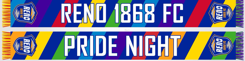 Reno 1868 FC Pride Night Scarf