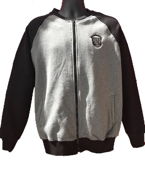 Black 1868 Full Zip Jacket