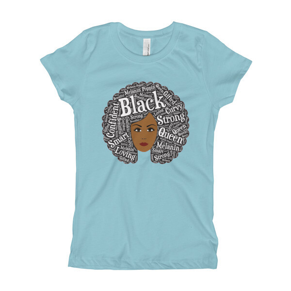 Girl's Afro Magic Light T-Shirt