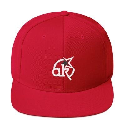 AKSTAR Logo Red Snapback