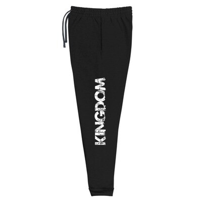 Kingdom Men Black Joggers