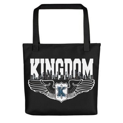 KIngdom Logo White Tote bag