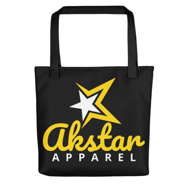 AkStar Signature Yellow Tote bag