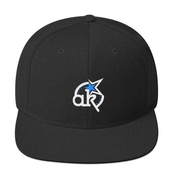 AKSTAR Logo Blk Snapback