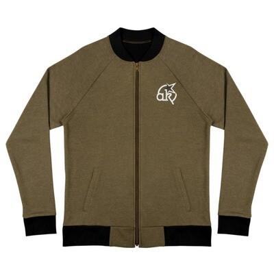 AkStar Logo Army Bomber Jacket