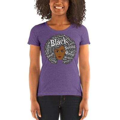 Ladies Afro Magic Light t-shirt