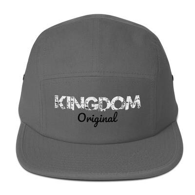 Kingdom Original Grey Five Panel Cap