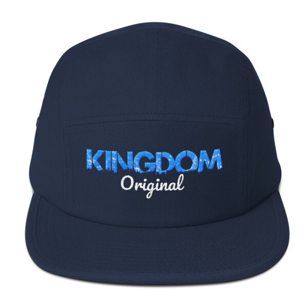 Kingdom Original Navy Five Panel Cap