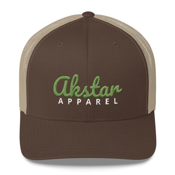 AkStar Signature Khaki Trucker