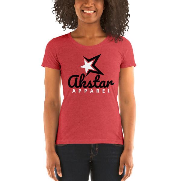 Ladies' Crewneck Red t-shirt