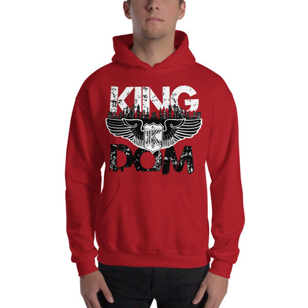 Kingdom Original Red Hooded Sweatshirt
